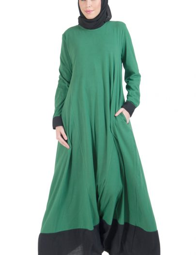 Everyday Knit Maxi Dress Green