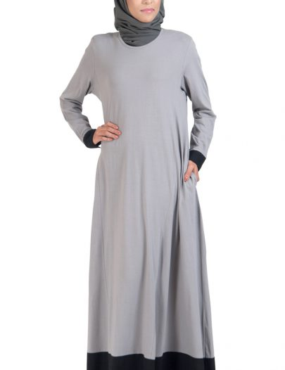 Everyday Knit Maxi Dress Grey