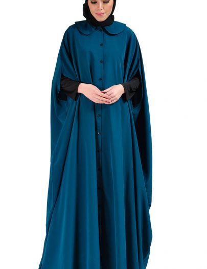 Cape Jilbab Dress Teal