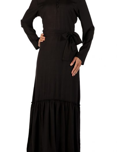 Comfortable Black Abaya Black