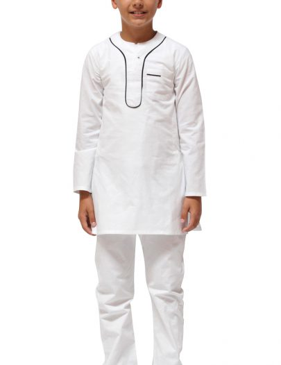Boys Kurta Set Black