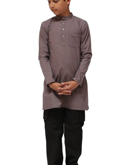 Mens Kurta Shirt Black