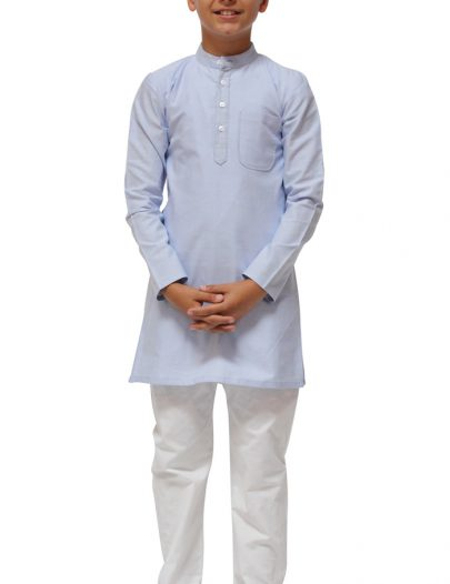 Boys Kurta Set Blue