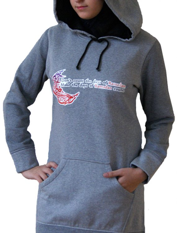 Proud2b Daysoframadan Hoodie Heather Grey