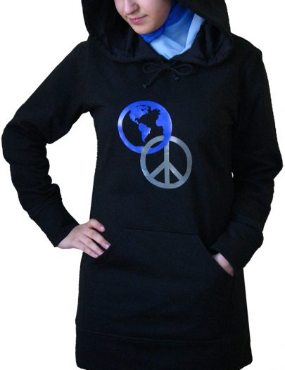 World Peace Hoodie Black