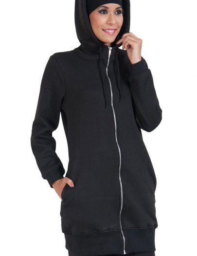 Basic Essentials Women's Hoodie Black