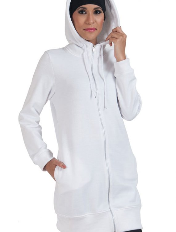 Basic Essentials Women's Hoodie- White