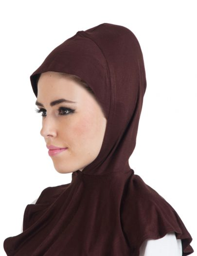 Ninja Hijab Cap Brown