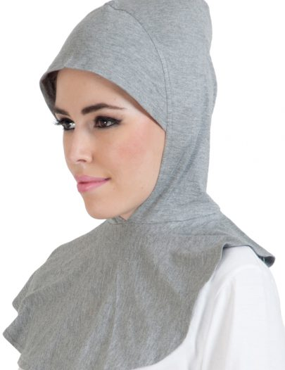Ninja Hijab Cap Light Grey