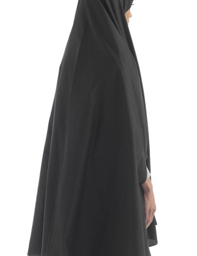 Black Cotton Khimar