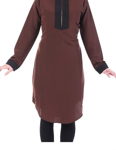 Taalea Kashibo Tunic Brown