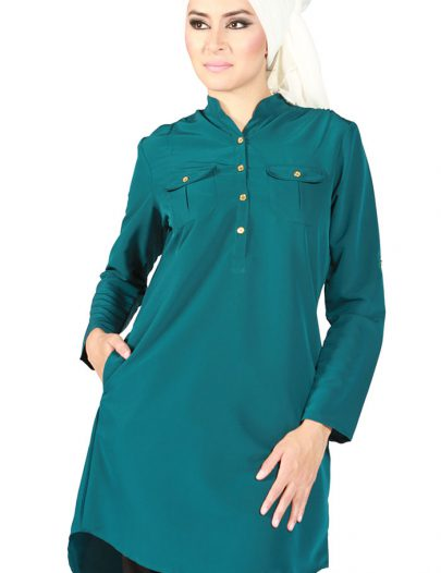 Amelle Shirt Tunic Teal