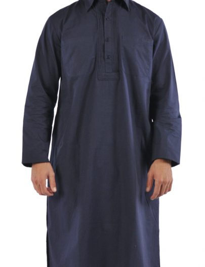 Mens Kurta Navy