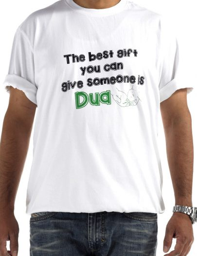 Give Dua T-Shirt White