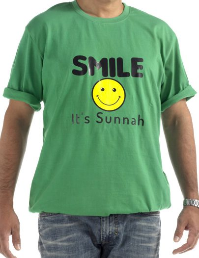 Smile T-Shirt Green