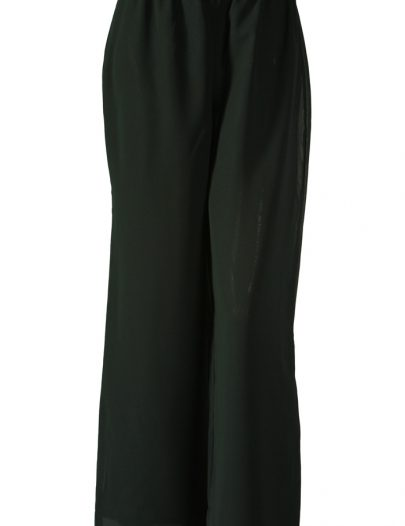 Green Georgette Pants Green