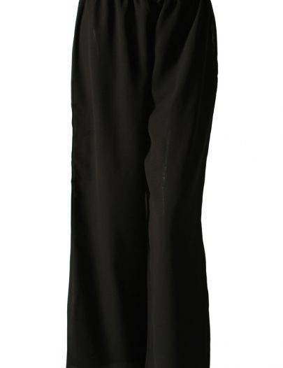 Black Georgette Pants