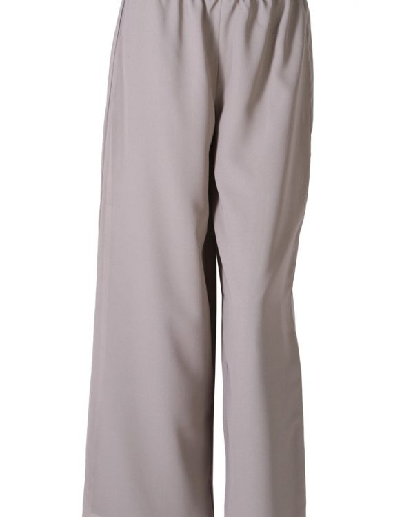Grey Georgette Pants Grey