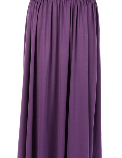 Purple Everyday Flowy Skirt Purple
