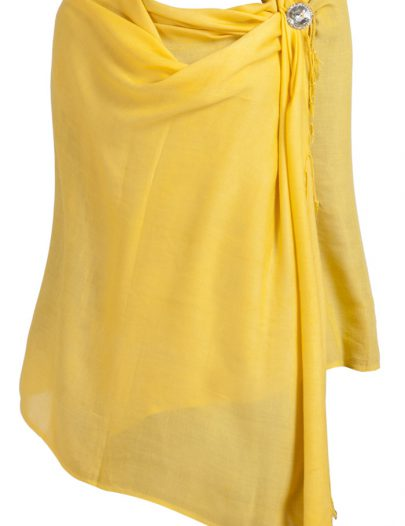 Winter Shawls Yellow