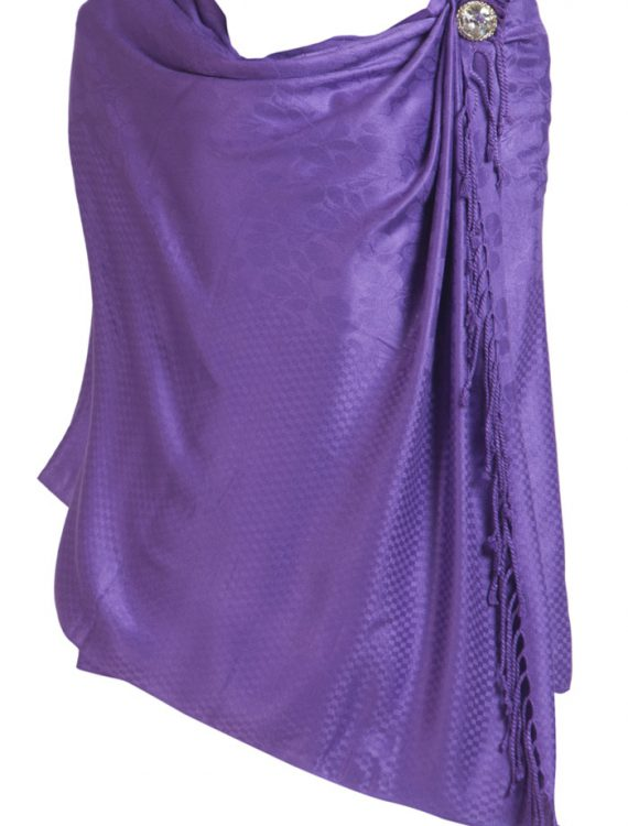Winter Shawls Purple