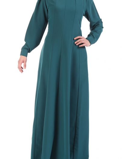 Everyday Pleated Abaya Teal