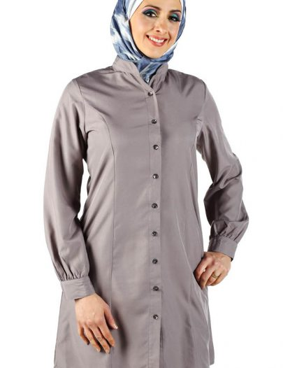 Basic Princess Kurti Dark Grey