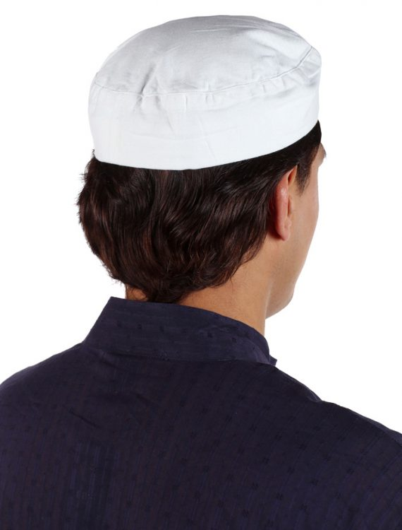 Cotton White Kufi White