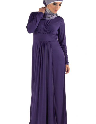 Flawless Knit Abaya Black