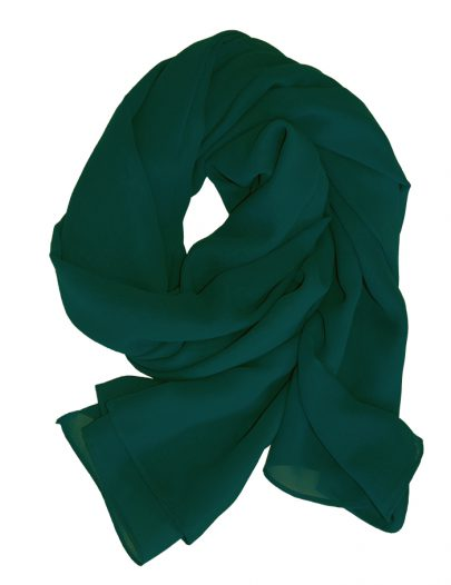 Georgette Hijab Green
