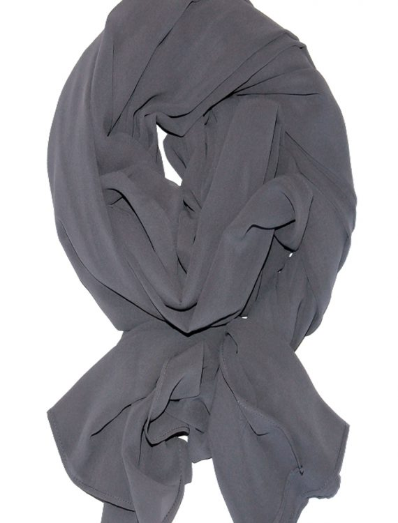 Georgette Hijab Grey