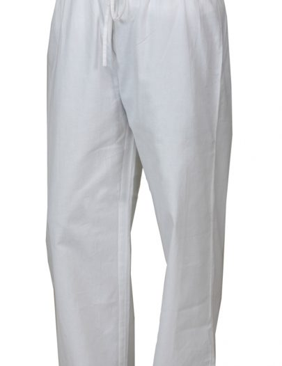 Mens Cotton Pants White