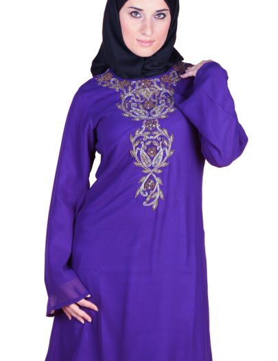 Purple Nafesa Kurti Purple