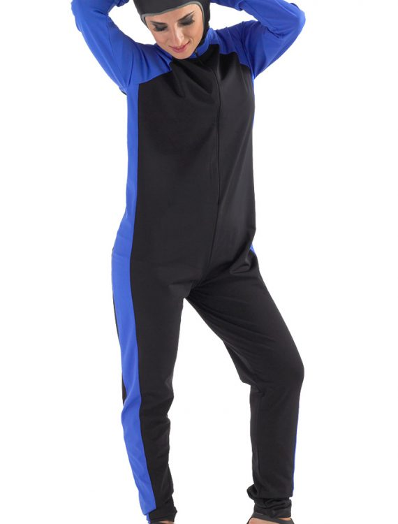 Sibaha Sports Burqini Black Blue Mix
