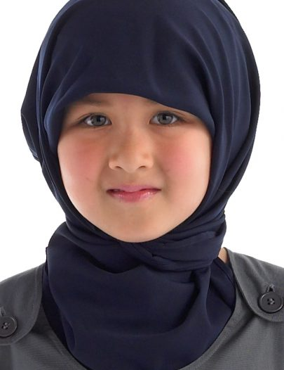 Square Hijab Navy
