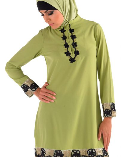 Tahira Kurti Light Green