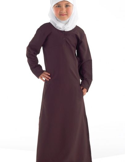 Uniform Abaya- Kids Size Black