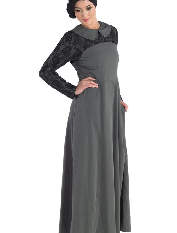 Unique Abaya Dress Black