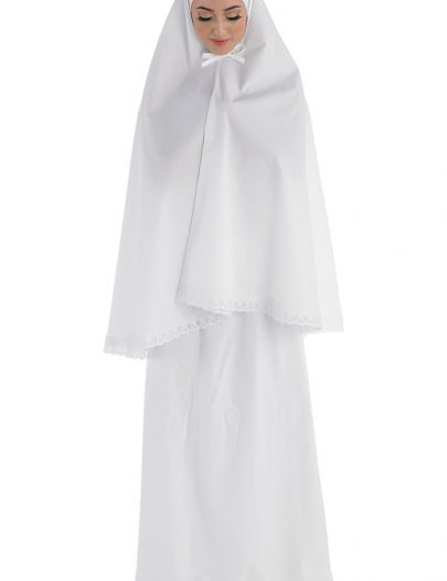 Women's Prayer Set White