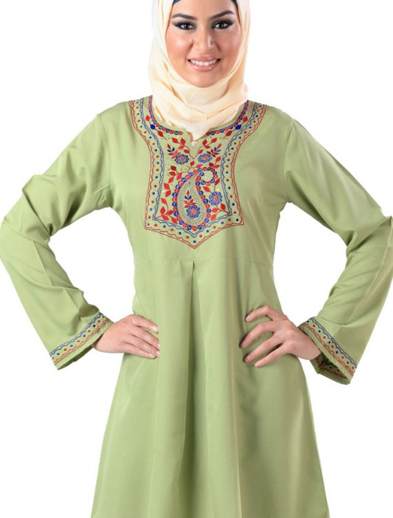 Zaraf Kurti Light Green