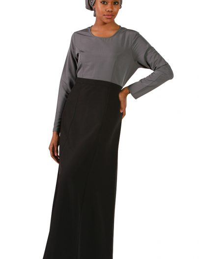 Designer Everyday Abaya Dress Black