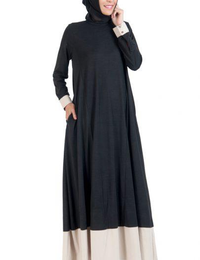 Everyday Knit Maxi Dress Black