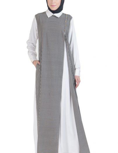 Jordan Double Layer Abaya Dress