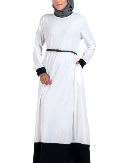 Everyday Knit Maxi Dress White