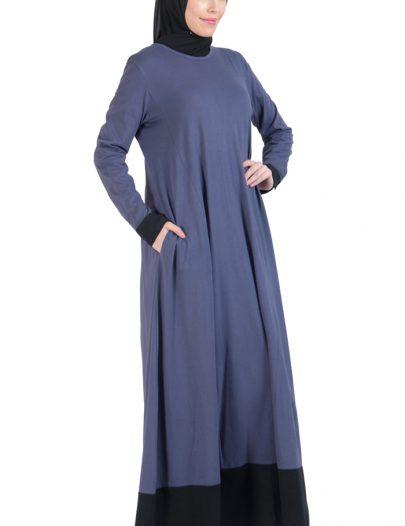 Everyday Knit Maxi Dress Purple