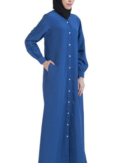Basic Abaya Monaco Blue