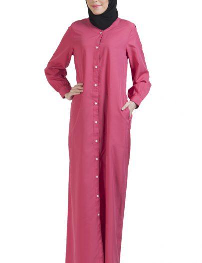 Basic Abaya Pink