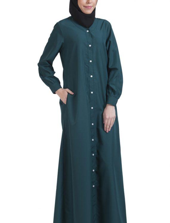 Basic Abaya Teal