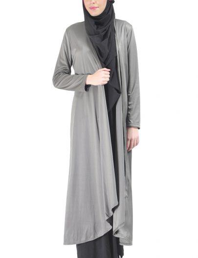 Classy Shrug Robe Grey