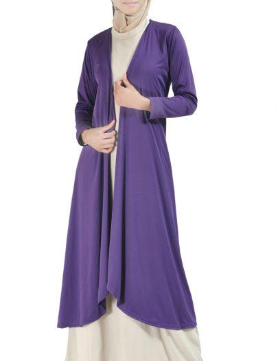 Classy Shrug Robe Purple